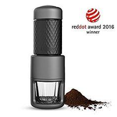 Amazon.com: STARESSO Espresso Coffee Maker, Red Dot Award Winner Portable Espresso Cappuccino, Quick Cold Brew Manual Coffee Maker Machines All in One: Kitchen & Dining