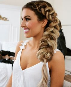 Pull through side braid by Ashley McMullen