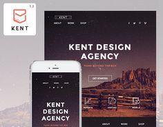 """다음 @Behance 프로젝트 확인: """"Kent - Responsive Email Newsletter + StampReady Builder"""" https://www.behance.net/gallery/30530273/Kent-Responsive-Email-Newsletter-StampReady-Builder"""