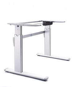Zenith Winding Handle Height Adjustable Desk Frame.  http://www.heightadjustabledesks.com/prod/105/zenith--winding-height-adjustable-desk-frames
