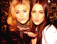 Annalynne Mccord & Jessica Lowndes - the dilemma of whether to put this in my T.V or Celebrities board