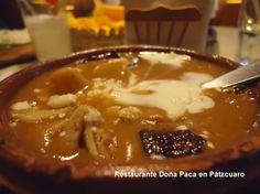 La Sopa Tarasca un platillo muy tradicional en Pátzcuaro