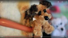 Video: how to make a pipe cleaner dog. This is soooo cute!