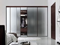 Marvelous Pictures Of Ikea Walk In Closet Design And Decoration : Good Looking Bedroom Closet And Storage Decoration Using Sliding Frosted Glass Closet Door Including Ikea Walk In Closet And Solid Modern Cherry Wood Closet Organizers Bedroom Closet Doors Sliding, Modern Closet Doors, Glass Closet Doors, Modern Sliding Doors, Closet Bedroom, Glass Doors, Diy Bedroom, Trendy Bedroom, Modern Wardrobe