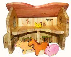Animalutele de la tara Wooden Toys, Toy Chest, Storage Chest, Car, Kids, Beautiful, Home Decor, Wooden Toy Plans, Young Children