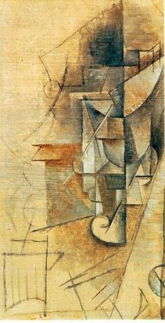 pablo picasso /Le verre by cathleen