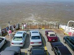 We rode this ferry across the James River from Jamestown to Scotland, Virginia and back again.