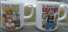 Check out Vintage The Worlds Greatest Grandma and Grandpa Two Ceramic Mugs 1960s Japan   http://www.ebay.com/itm/Vintage-Worlds-Greatest-Grandma-and-Grandpa-Two-Ceramic-Mugs-1960s-Japan-/161690441964?roken=cUgayN&soutkn=pITjNP via @eBay