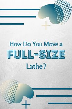 How the heck do you move a full-size lathe into a workshop in the first place, especially if it's in a basement? We have some tips and tricks--read them here!  #createwithconfidence #learnwithrockler #lathetips #fullsizelathe #mobilelathe Beginner Woodworking Projects, Woodworking Shop, Woodworking Plans, Wood Working For Beginners, Lathe Accessories, The Heck, Lathe Tools, Workshop Organization, Wood Turning Projects