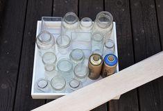 Upcycling Glass Jars