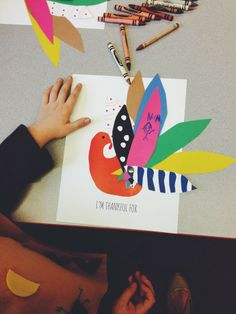 swoon studio: Thankful Mr. Turkey (a printable for kids).