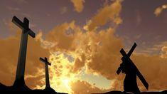 Christ teaches us to carry our crosses #christaingriefcounselingprogram