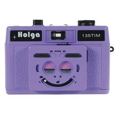 Holga 135 Tim - Plastic Violet
