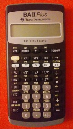 HewlettPackard Hp Bii Business Calculator With Carry Case And