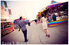 Our carnival engagement photos - www.lianebergen.com