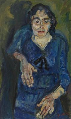 Woman in Blue (La Femme en bleu)  c. 1919 Oil on canvas 100.3 x 60.3 cm  Barnes foundation, Philadelphia