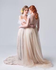 Svatební líčení a účesy dvě nevěsty | Czech Make-up House | Svatba.cz Girls Dresses, Flower Girl Dresses, Up House, Bridesmaid Dresses, Wedding Dresses, Make Up, Fashion, Dresses Of Girls, Bridesmade Dresses