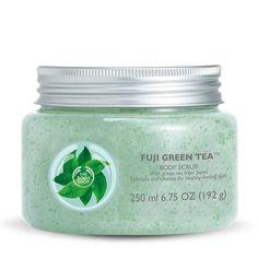 [The Body Shop] FUJI GREEN TEA BODY SCRUB / 8.4 fl oz