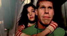 Jean-Pierre Jeunet, Marc Caro - Ron Perlman and Judith Vittet in 'The City of Lost Children' (1995)