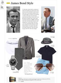 Inspired James Bond  Style