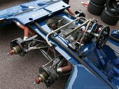 Tyrrell P34 - 1976 - 6 Wheeled F1 Car
