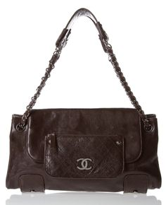 CHANEL SHOULDER BAG @Michelle Coleman-HERS  Love the tough-girl edge on this chanel