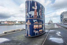 New Gasworks Sculpture by John Kindness - Sir John Rogerson's Quay