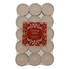 Pack of 30 Christmas Cookie Tealights