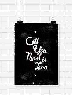 Pôster - All you need is love