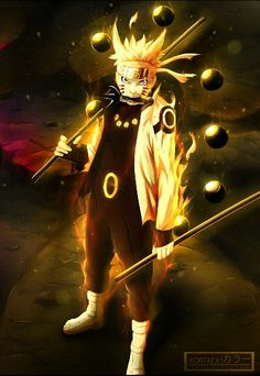 Sage Of Six Paths  Naruto
