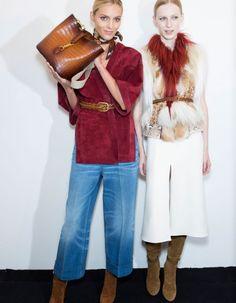 BACKSTAGE DU DÉFILÉ GUCCI PRÊT À PORTER PRINTEMPS-ETÉ 2015 http://www.elle.fr/Mode/Les-defiles-de-mode/Pret-a-Porter-Printemps-Ete-2015/Femme/Milan/Gucci/Backstage