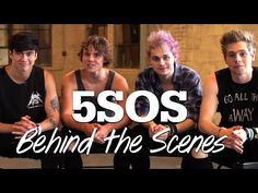 5SOS - Behind the Scenes Photoshoot!! #17Stars - YouTube