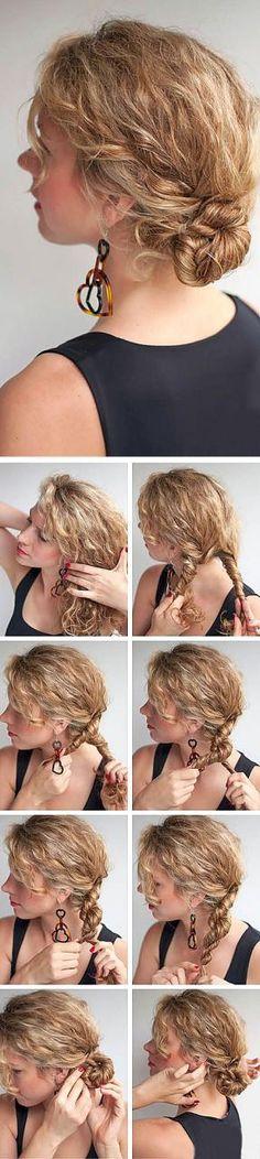 Τέλεια χτενίσματα και κουρέματα για σγουρά μαλλιά