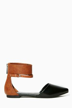Shoe Cult Alvarado Flat - Black