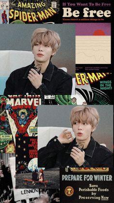 Cartoon Wallpaper, Wallpaper S, Free Spider, Kpop Phone Cases, Nct Yuta, Nct Johnny, Kpop Aesthetic, Taeyong, Jaehyun