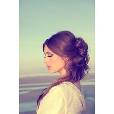 10 Creative & Unique Wedding Hairstyles for Long Hair found on Polyvore