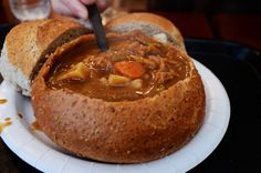 There is nothing better on a cold day than warm homemade soup and there is no better place, in our opinion, then the Soupbox! http://soupbox.com/ #chicagoeats #resturantblogs #chicagofoodies