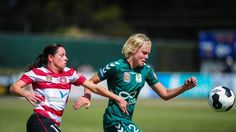 They're usually fighting for the same cause, but Canberra United teammates Catherine Brown and Grace Field will square off with the Federation Cup at stake.   Congratulations to St Clare's College old girl, Catherine Brown, Class of '11.