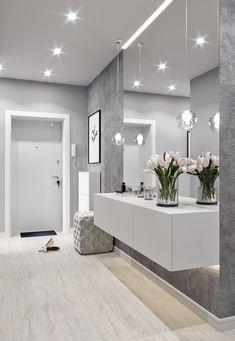 Projekt Projekt Entryway and Hallway Decorating Ideas Hallway Projekt Home Decor Trends, Home Interior Design, House Interior, Home, Interior Design Living Room, Hall Decor, Home Deco, Modern House, Home Decor