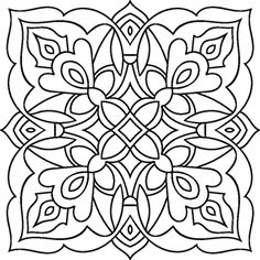 color fly coloring pages Mandalas Painting, Dot Painting, Mandala Art, Fabric Painting, Stained Glass Patterns, Tile Patterns, Pattern Art, Pattern Drawing, Color Fly