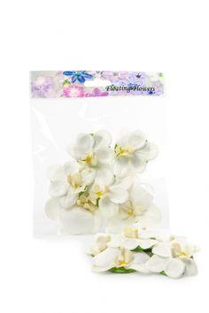 Orkidé flytande 6-pack- vit 1 HemmetsHjarta