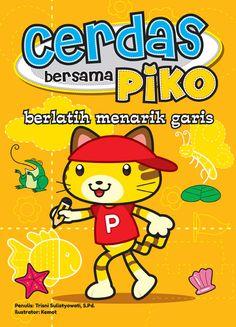 Buku berlatih menarik garis bersama Piko dirancang khusus untuk mempersiapkan anak menulis. Menarik garis merupakan kegiatan persiapan untuk menulis. Agar berlatih menarik garis menjadi kegiatan yang menyenangkan, buku ini dilengkapi dengan beragam aktivitas, seperti menebalkan dan mewarnai gambar.   Informasi Buku Judul : Cerdas Bersama Piko Berlatih Menarik Garis Harga : Rp 15.000 ISBN : 978-602-7690-75-2 Penulis : Trisni Sulistyowati, S. Pd