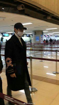 #Minho en el aeropuerto Gimpo rumbo a Japón 2017-03-10