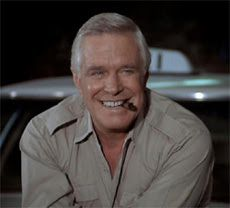 George Peppard aka Hannibal / John Smith, leader of the A Team