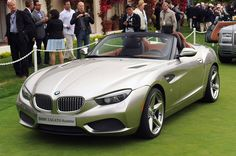 BMW Zagato Roadster - one I'm sure you have to see in person to appreciate