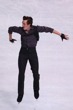 Jeremy Abbott of USA Men's Short Program 2013 Trophee Eric Bompard, Mens Figure Skating / Ice Skating dress inspiration for Sk8 Gr8 Designs.