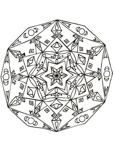 Free coloring page mandalas-to-download-for-free-24. #Mandala #coloring #page…
