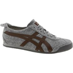 Onitsuka Tiger felt like sneakers grey + brown 62febd2481