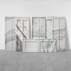 soudasouda:  @SoudaBrooklyn / @_roomonfire: 'Marble Doors' by Ai Weiwei, 2007.Like what you see? Follow Souda on Instagram