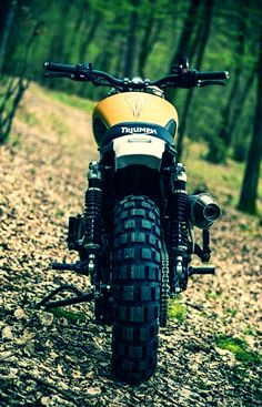 Triumph ..... Going OFF-ROAD!!